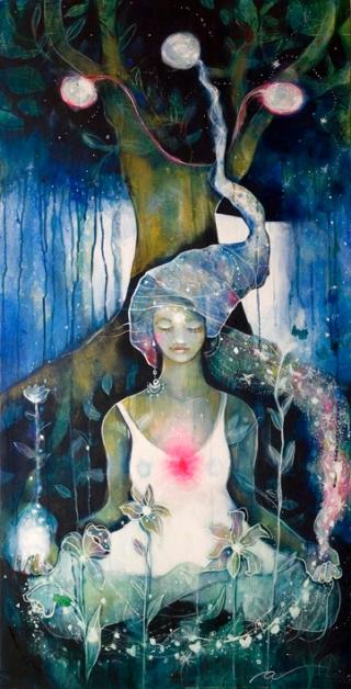 Pintura por Agnès Mateu (www.agnesmateu.com)